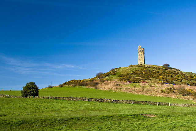 Huddersfield - Castle Hill by Tom Plesnik | CC 2.0