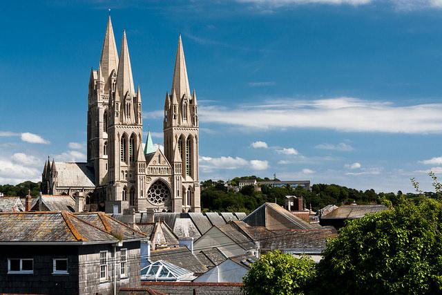 Truro Cathedral by Ignatius Wahn - CC 2.0