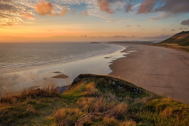 Rhossili Bay Beach, Wales