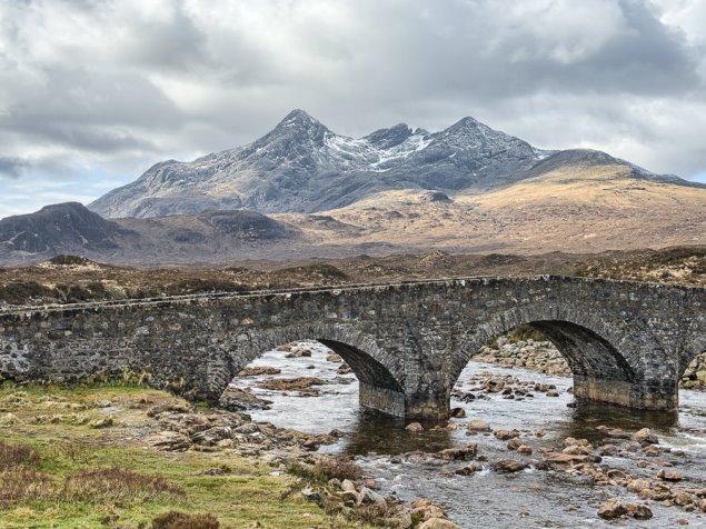 Sligachan Glen, Isle of Skye