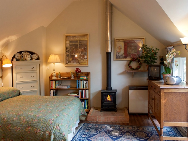 Holiday cottage in Somerset with open fire