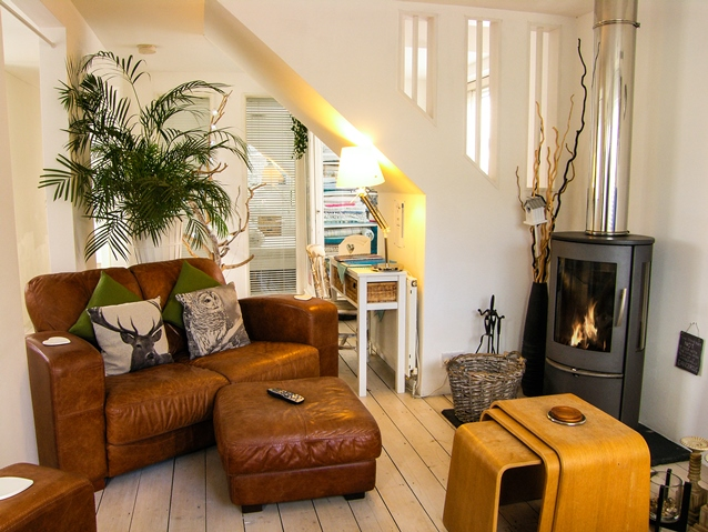 Holiday cottage on Anglesey with open fire