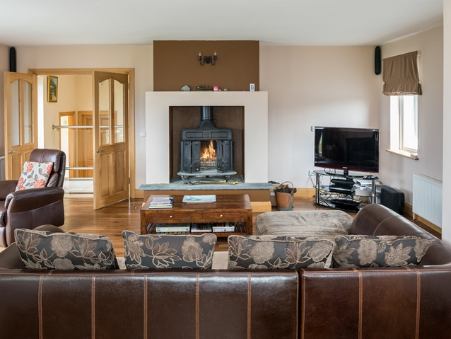 Holiday cottage in County Clare with open fire