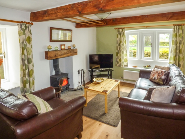 Holiday cottage in Yorkshire with open fire
