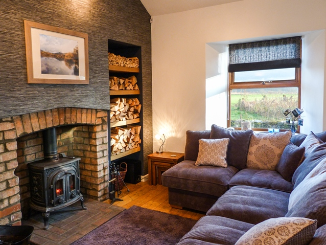 Holiday cottage in Lake District with open fire
