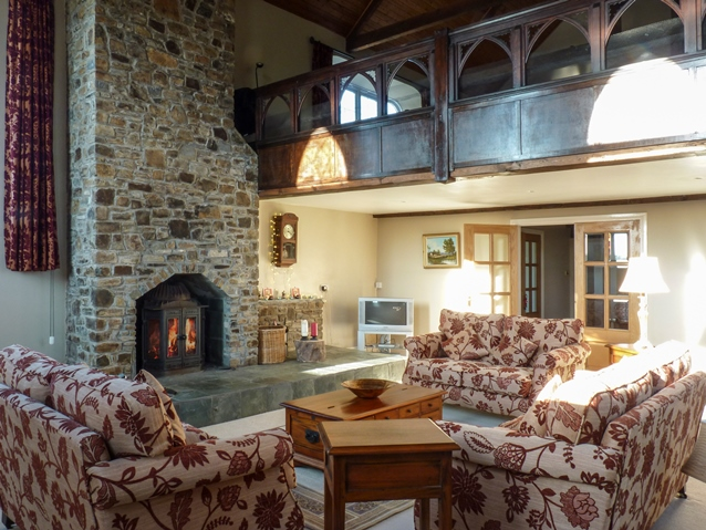 Holiday cottage in Devon with open fire