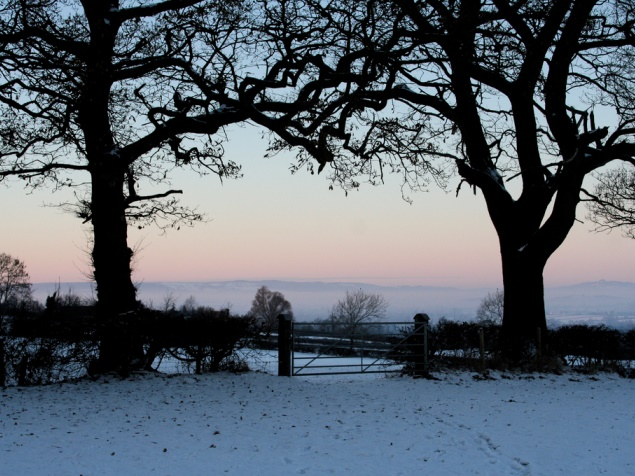 Winter in Gloucestershire