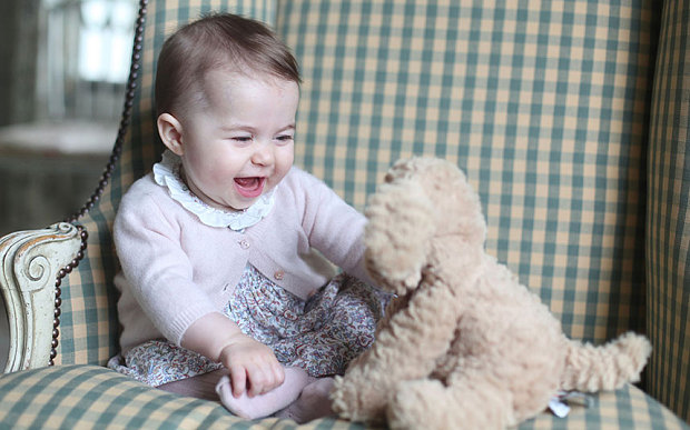 Princess Charlotte. Photo: Duchess of  Cambridge