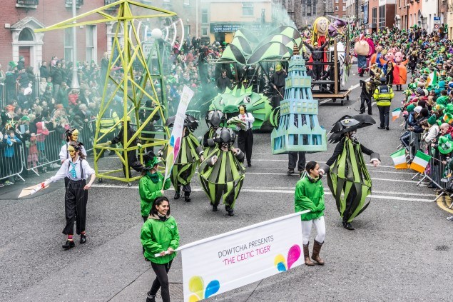 St Patricks Day Parade, Dublin