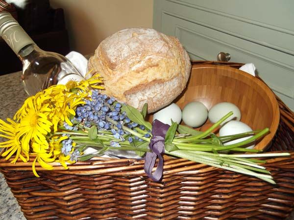 Welcome basket at Yate Cottage (Ref. 913883) in Oxenhope