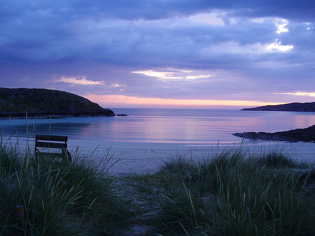 Scotland. Achmelvich Beach