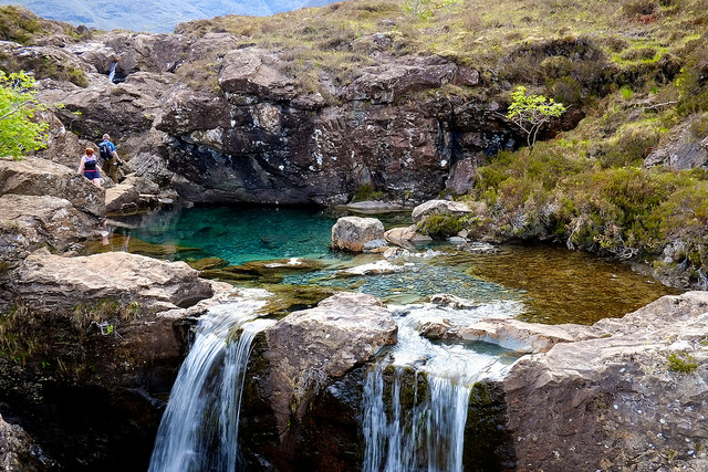 Scotland. fairy Pools