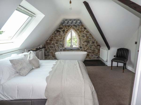 Bedroom in holiday cottage