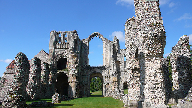 Walk of the Month - Castle Acre in Norfolk
