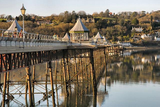 Bangor Pier in Bangor, Gwynedd