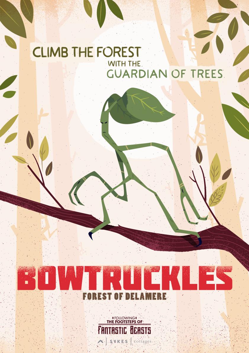 bowtruckles poster fantastic beasts