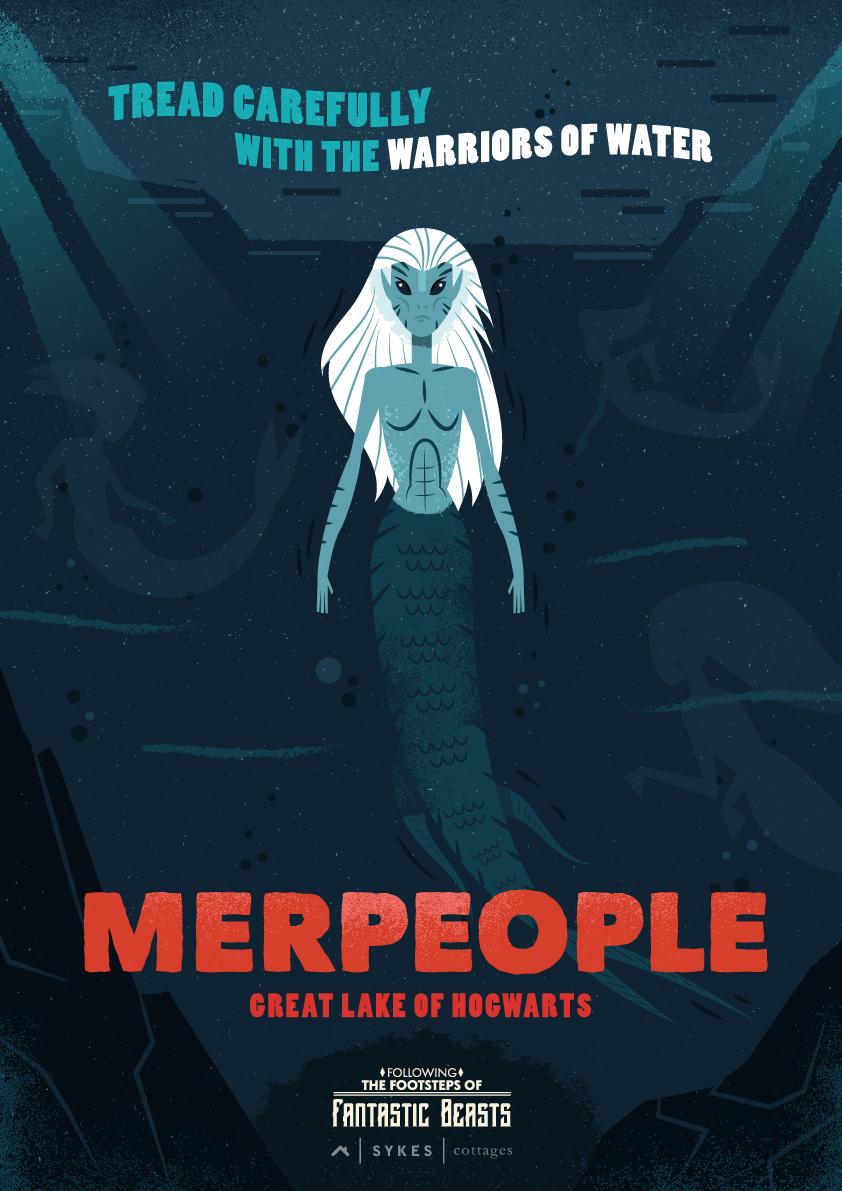 merpeople poster fantastic beasts