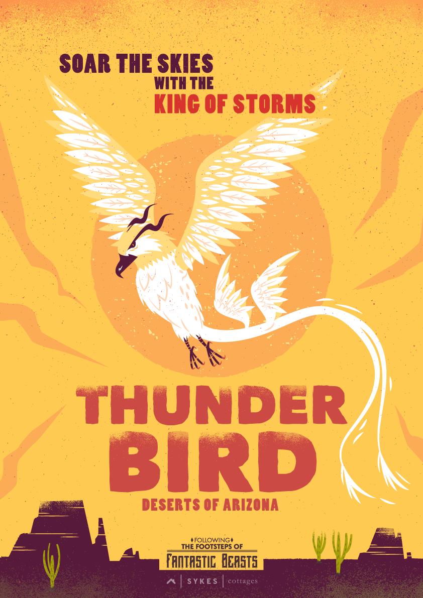 thunderbird poster fantastic beasts