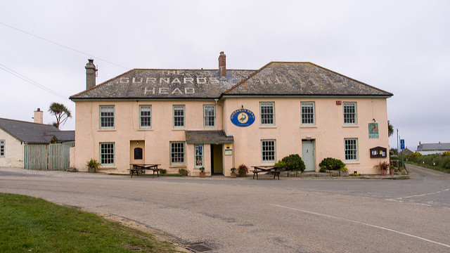 The Gurnard's Head Hotel by Ed Webster is licensed under CC 2.0