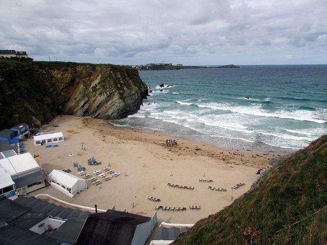 Lusty Glaze beach, Cornwall
