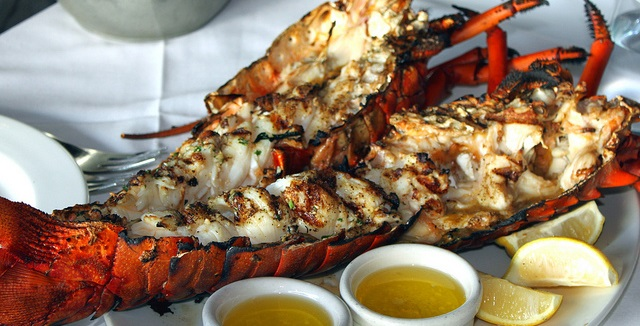Grilled lobster by Author is licensed under CC.20