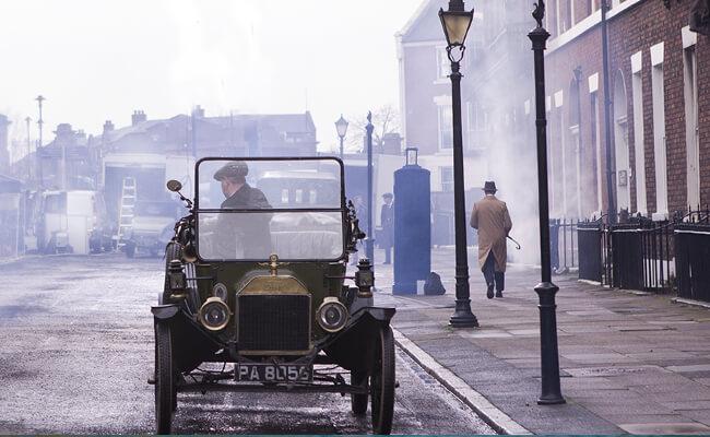Peaky Blinders filmed in Yorkshire