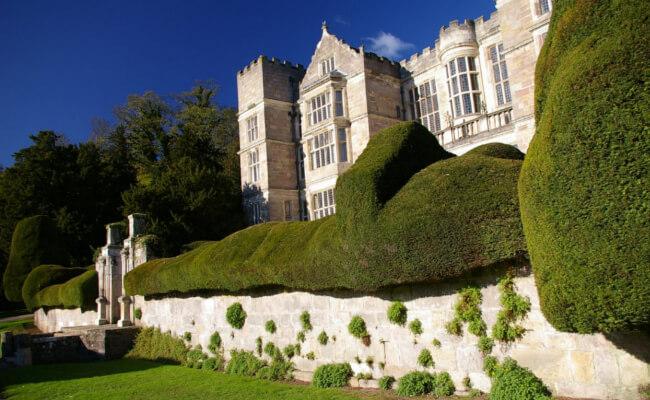 The secret garden filmed in Yorkshire