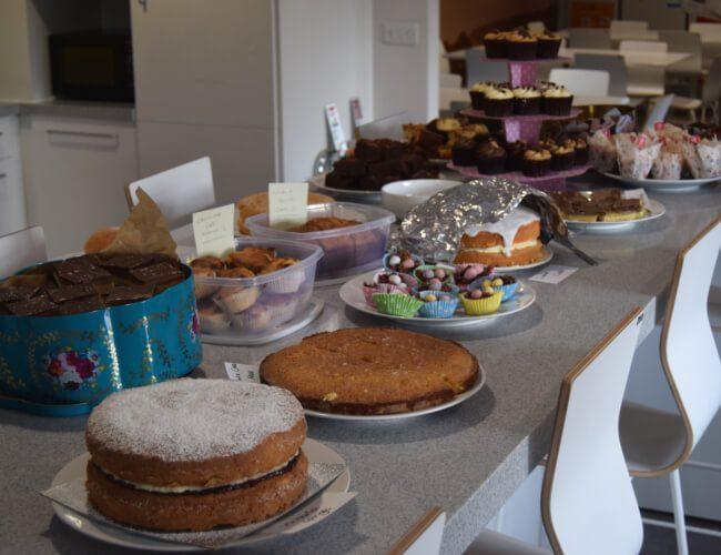 share bake sale