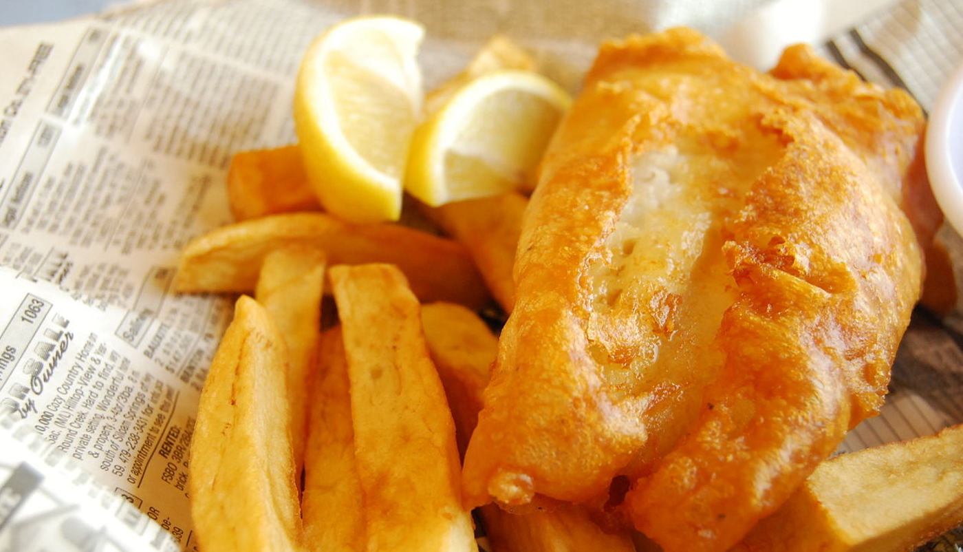 fish and chips in yorkshire
