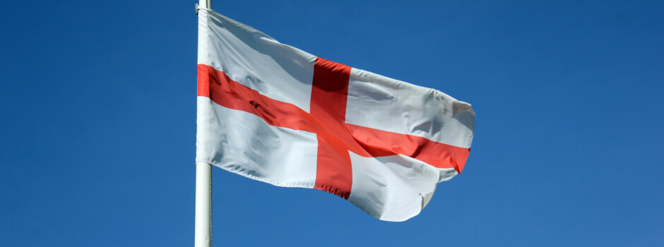 st george flag england