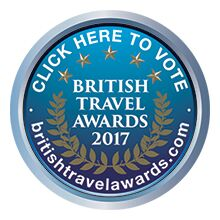 British travel awards Vote for Sykes Cottages