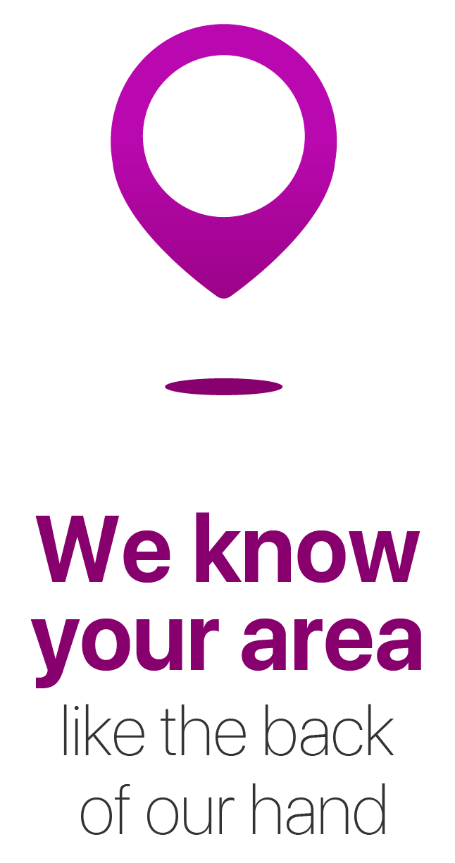 We know your area - Image