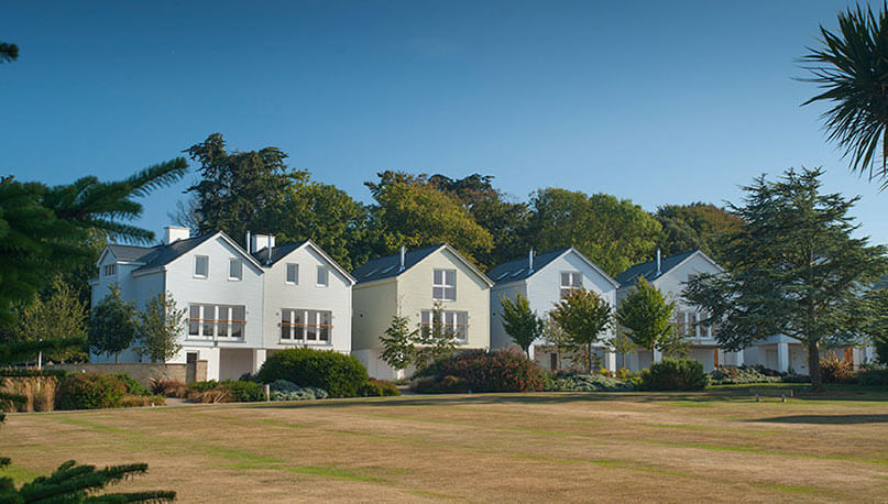 New England-style properties at West Bay Club & Spa